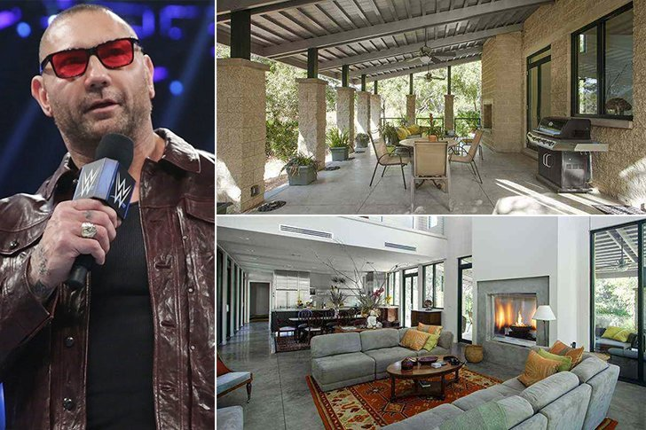 these super fancy wrestling star homes are a site to see