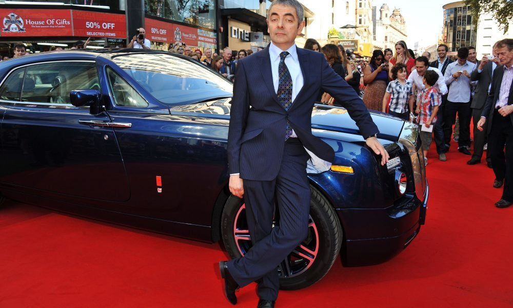 rowan atkinson can afford all these expensive cars thanks to mr bean cash roadster. Black Bedroom Furniture Sets. Home Design Ideas