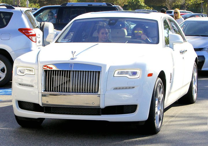 According to sources, Jenner reportedly crashed her Rolls Royce Ghost in an accident once.