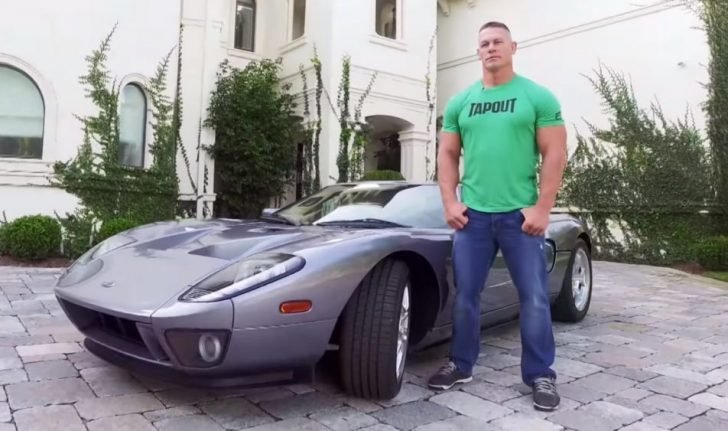 Cena earned an astounding $1.52 million as he sold his Ford GT to the first owner after him.