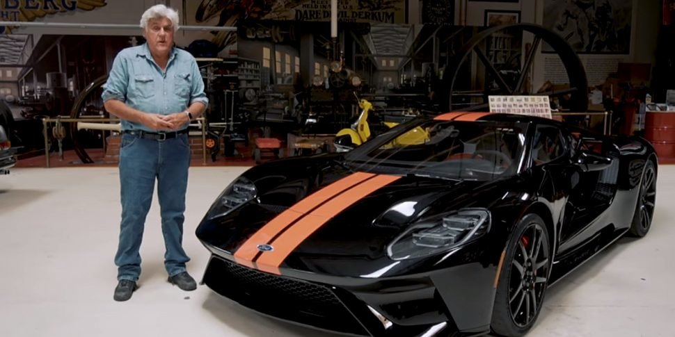 Leno didn't miss to become one of the earliest owners of Ford GT's first 500 produced units.