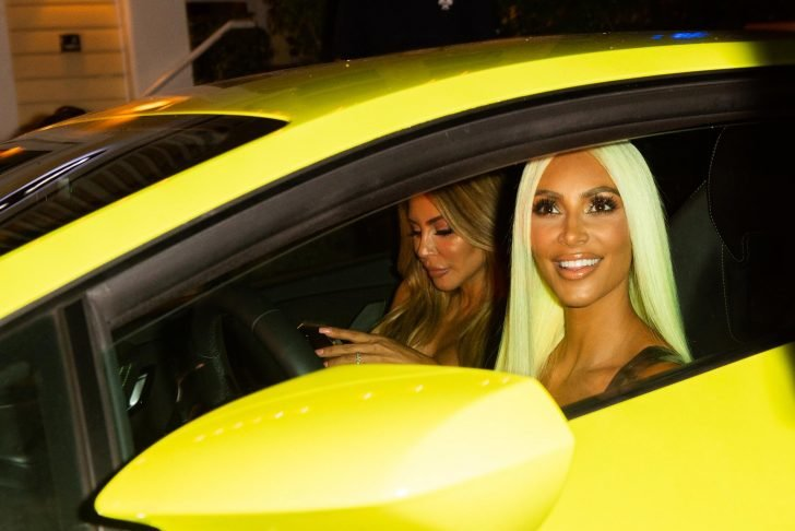 Kim Kardashian also didn't miss adding the great Huracan Performante on her stunning automobile collection.