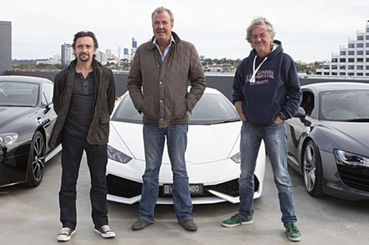Jeremy Clarkson hosted Top Gear from 1988-2015.