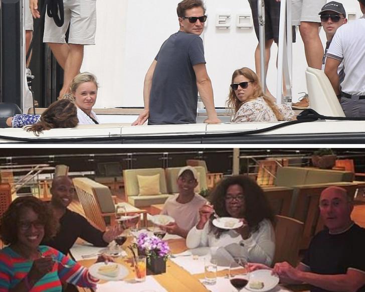 Celebrities like Oprah Winfrey as well as