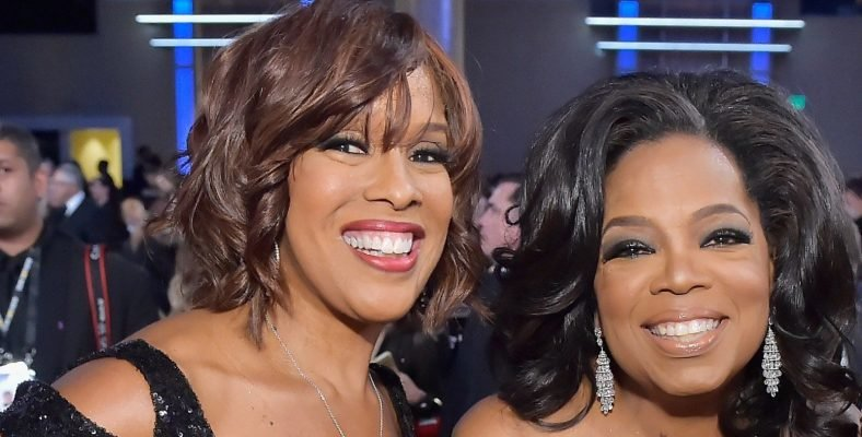 Oprah Winfrey encourages King to pursue what she wants because she deserves it.