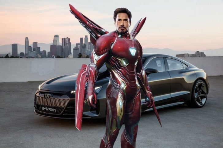 Tony Stark confirmed he ended up driving Audi e-Tron GT in the Avengers 4 movie.