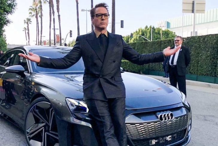 Everyone couldn't help but gaze as they have their first glimpse of Audi's e-Tron GT that isn't available until 2021.