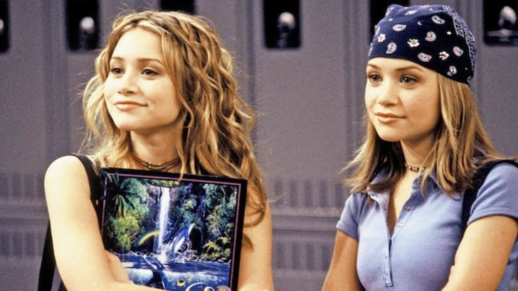 The Olsen twins rose to popularity after starring in Full House.
