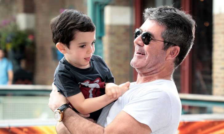 Despite the massive age gap between Simon and his son, the renowned TV producer reveals he's having a great time bonding with Eric.