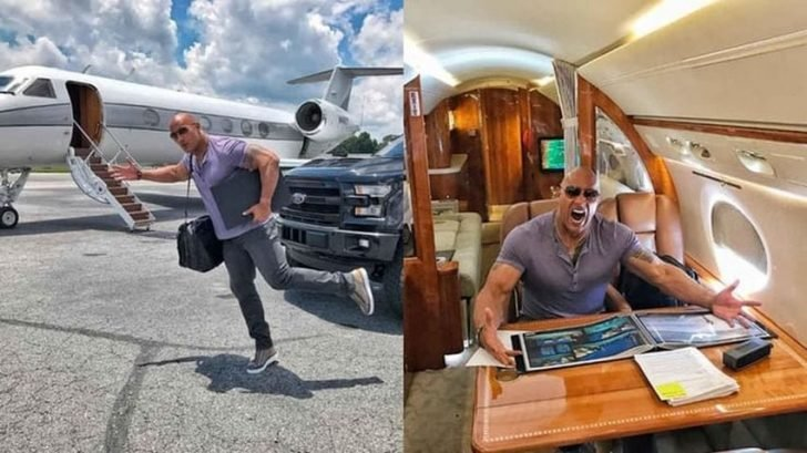 The Rock hails G650 as the fastest private plane in the world.