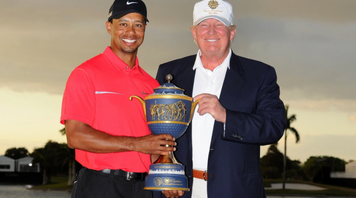 President Trump didn't miss to congratulate his long-time golf friend, Tiger Woods, for his victory.
